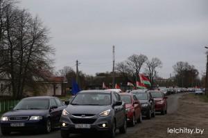 Автопробег:  дорогами сожжённых деревень